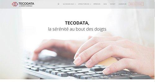 Site internet tecodata niort